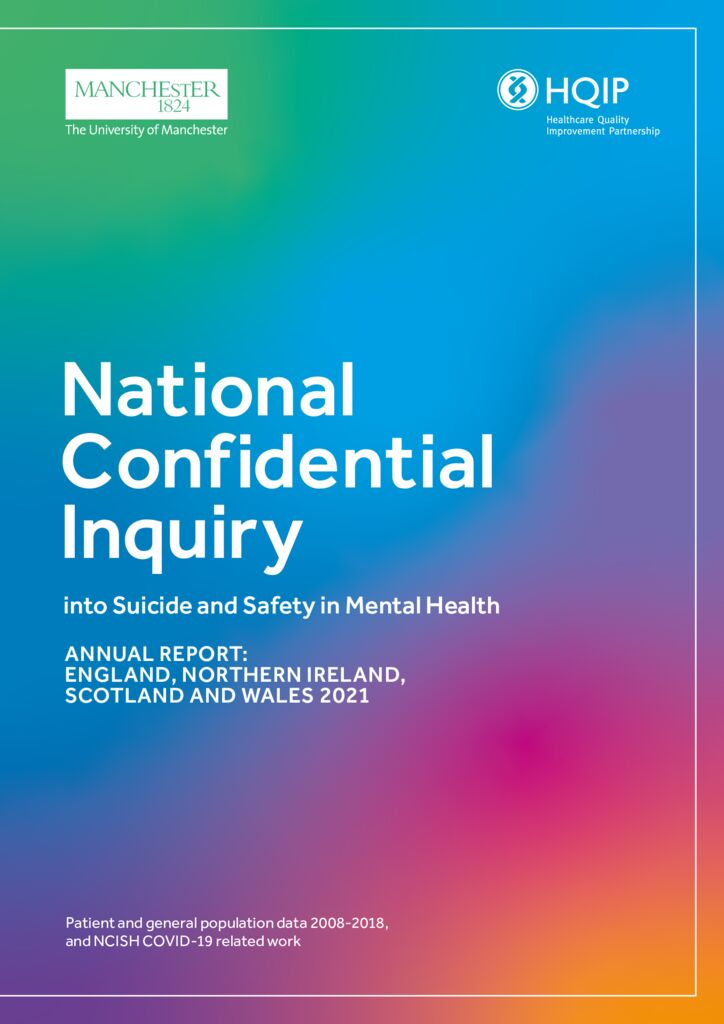 National Confidential Inquiry into Suicide and Safety in Mental Health – Annual Report 2020