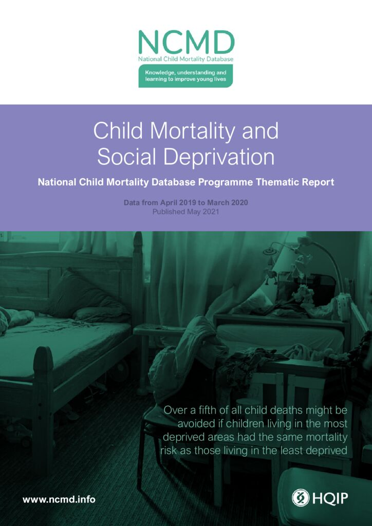 National Child Mortality Database Programme – Child Mortality and Social Deprivation Thematic Report