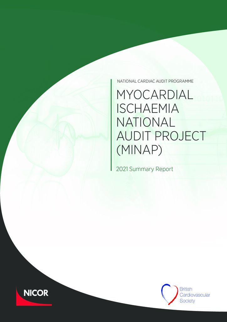 Myocardial Ischaemia National Audit Project: 2021 summary report