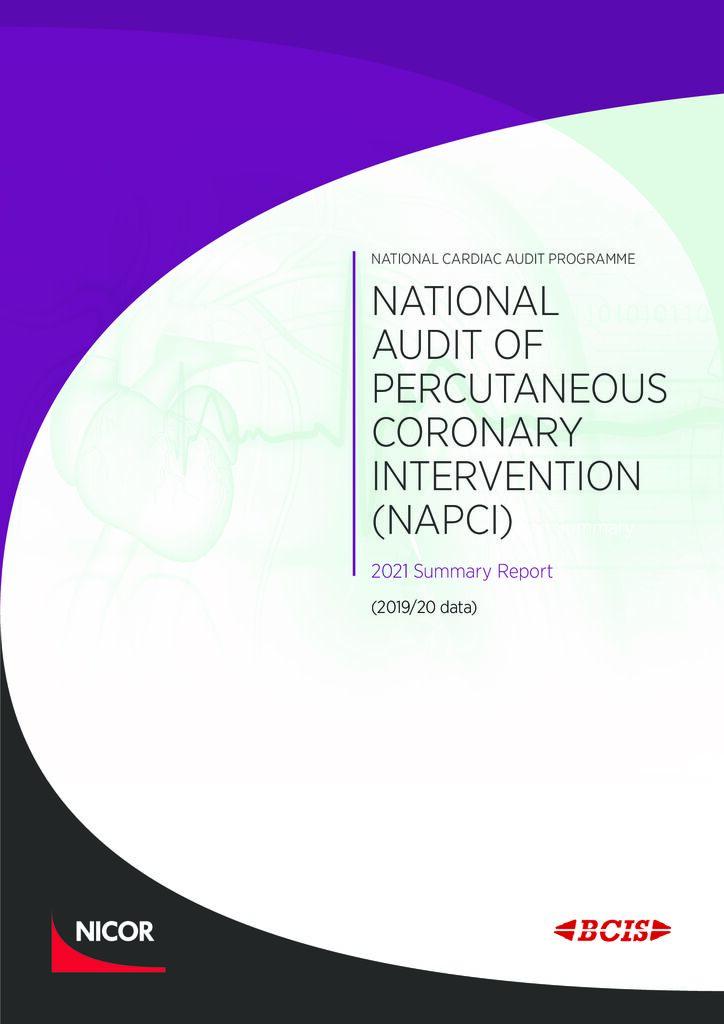 National Audit of Percutaneous Coronary Intervention: 2021 summary report