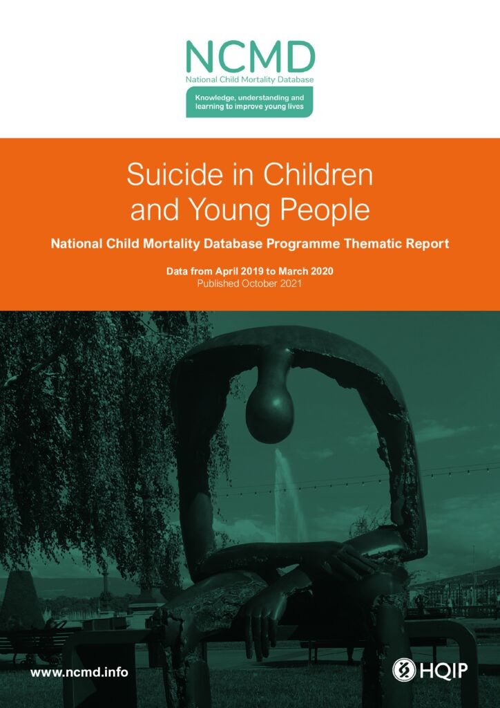 National Child Mortality Database Programme: Suicide in children and young people thematic report 2021