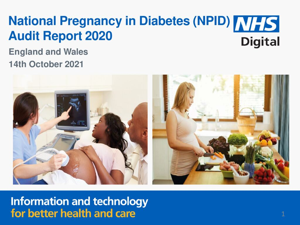 National Pregnancy in Diabetes Audit Report 2020